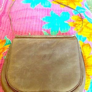 Charles Jourdan Paris made in France leather bag